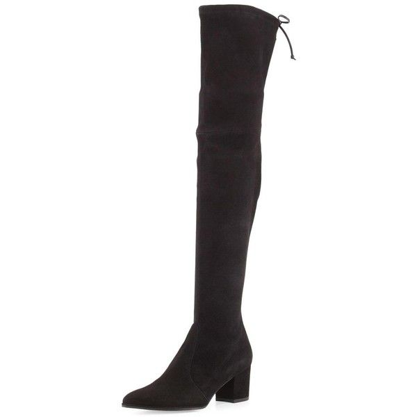 knee-length chunky heel boots - Black Stuart Weitzman Outlet Official Site Cheap Purchase Buy Cheap Supply SYZr8WKoqu