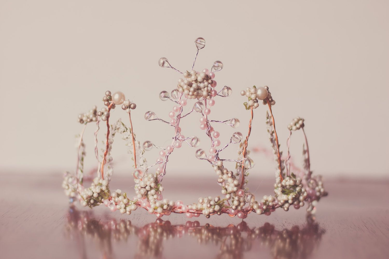 Wire flower crown fairy crown wedding wreath wedding crown crown wire flower izmirmasajfo