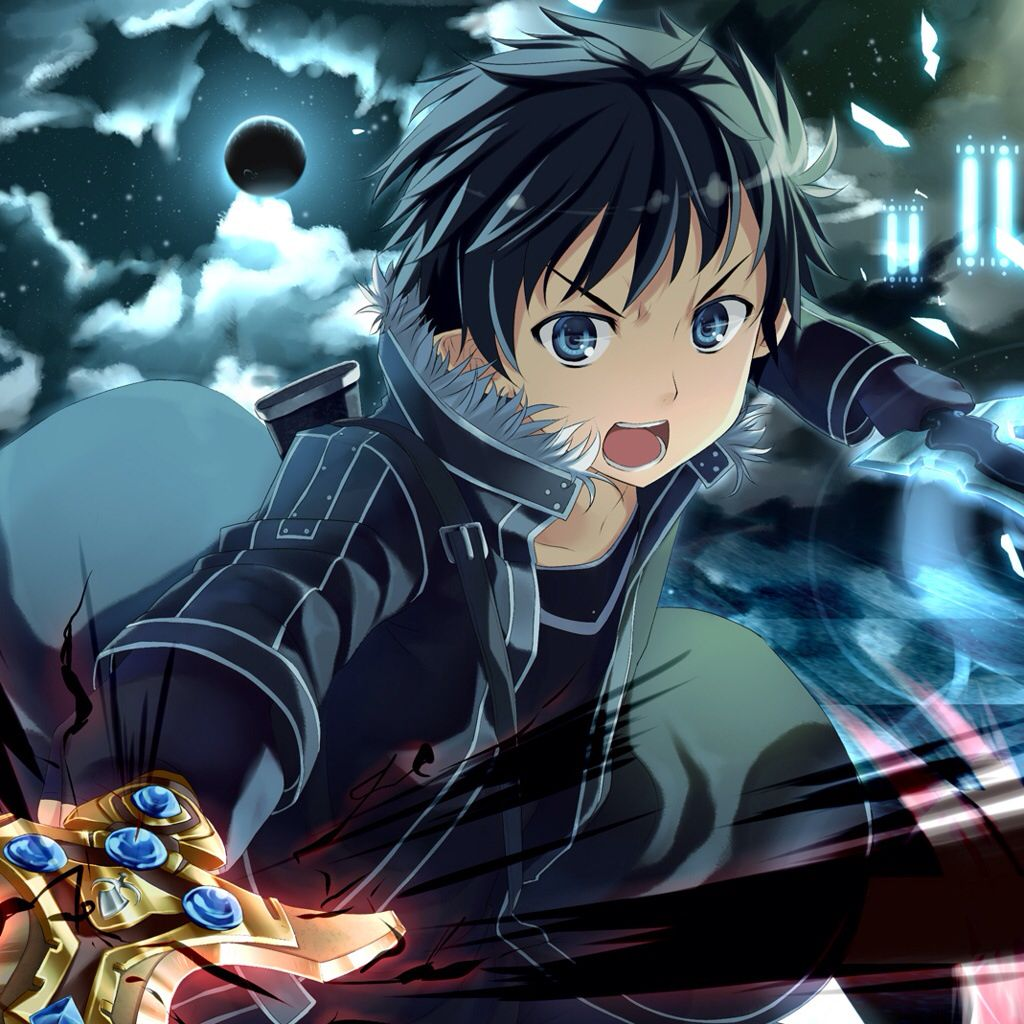 Kirito wallpaper from sword art online from the Zedge app
