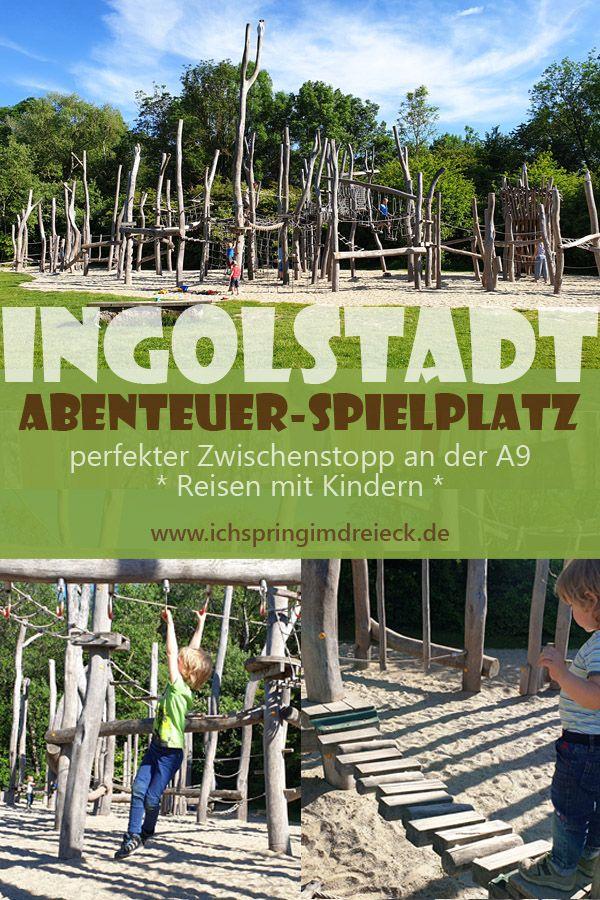 Photo of Riesiger Kletter-Abenteuerspielplatz in Ingolstadt – idealer Zwischenstopp mit Kindern an der A9