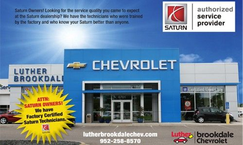 Chevrolet Service Specials At Luther Brookdale Chevrolet In