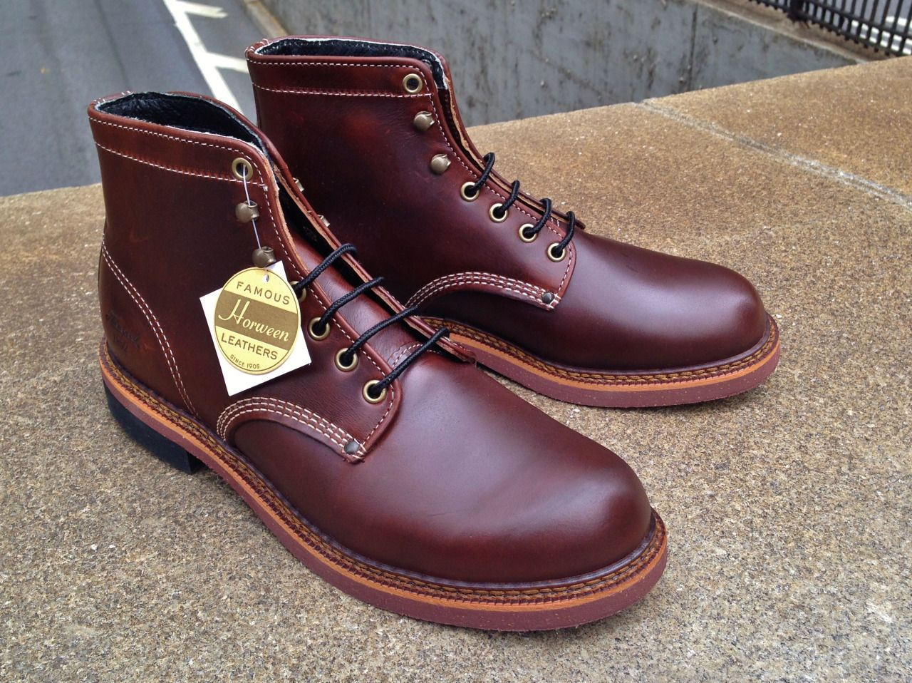 e2939166d02 mouldedshoe: Thorogood 1892 Boots in Horween... - The Old Pine ...