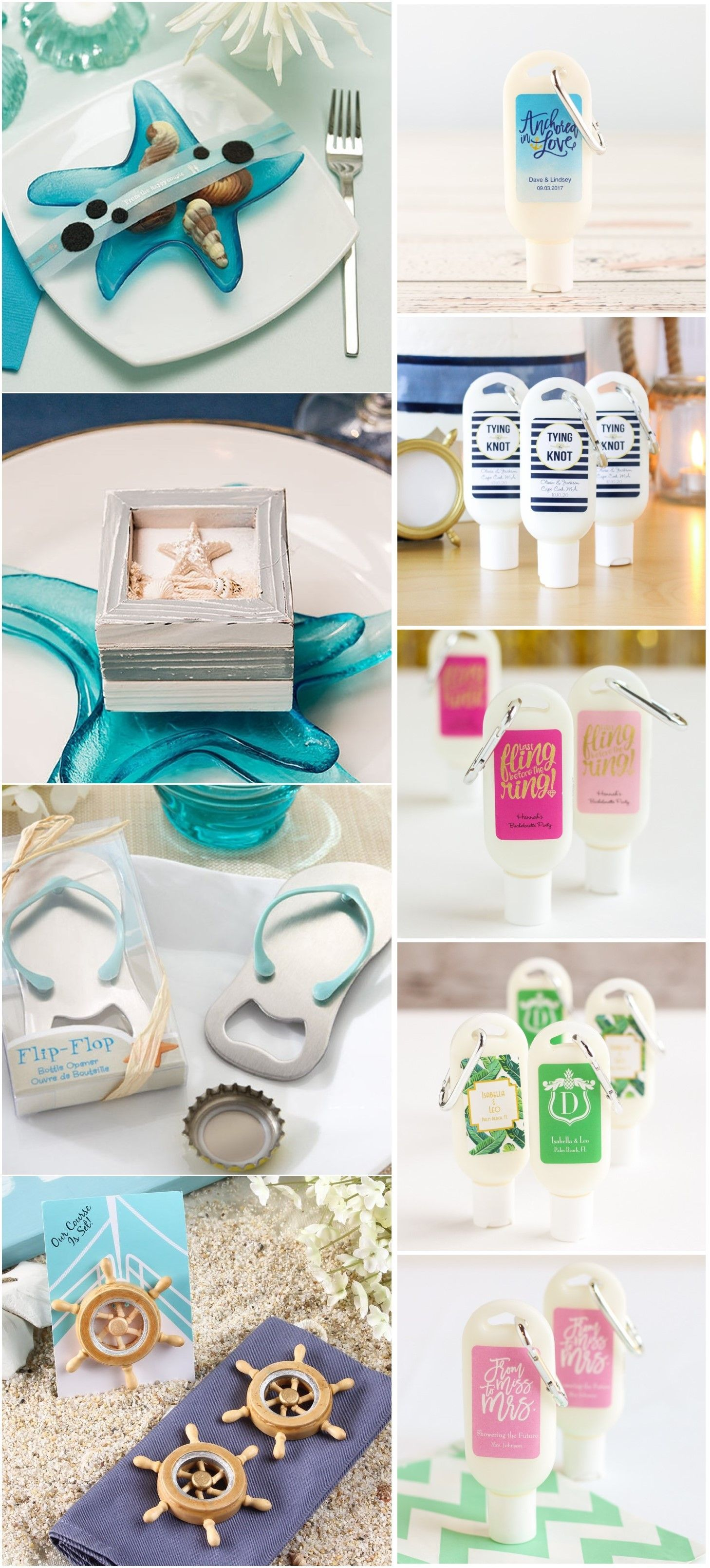 Wedding Favors » 19 Beach Wedding Favor Ideas Barely Cost A Thing ...