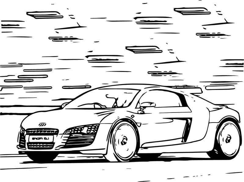 Top 20 Free Printable Sports Car Coloring Pages Online | 597x800