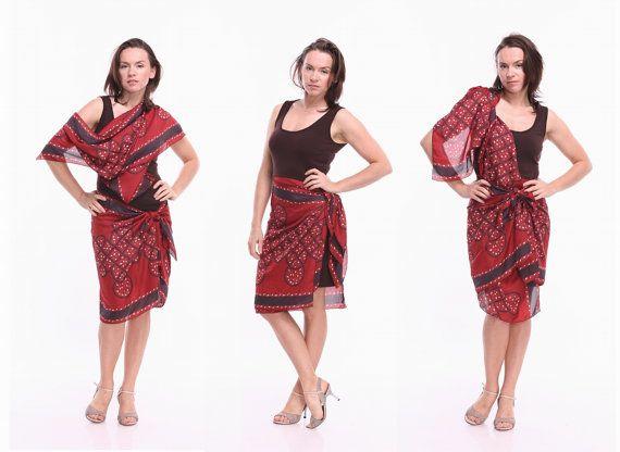 Tango Dress  Transformer Tango Clothes in Brown Custom