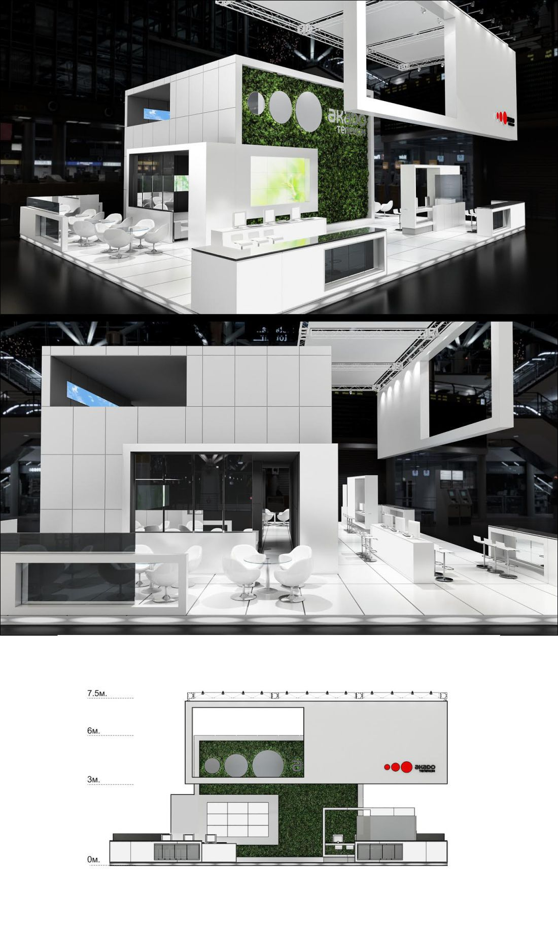 Exhibition Booth Floor Plan : Expo on behance exhibition stands exhibition booth design