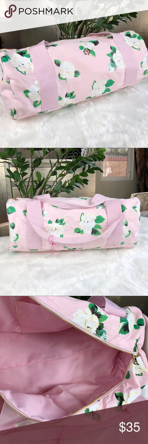 9ee2fc569ddd Bando Ban.do duffel gym bag lady of leisure pink Hard to find and sold out  everywhere. Ban.do work it out bag in Lady of Leisure print.