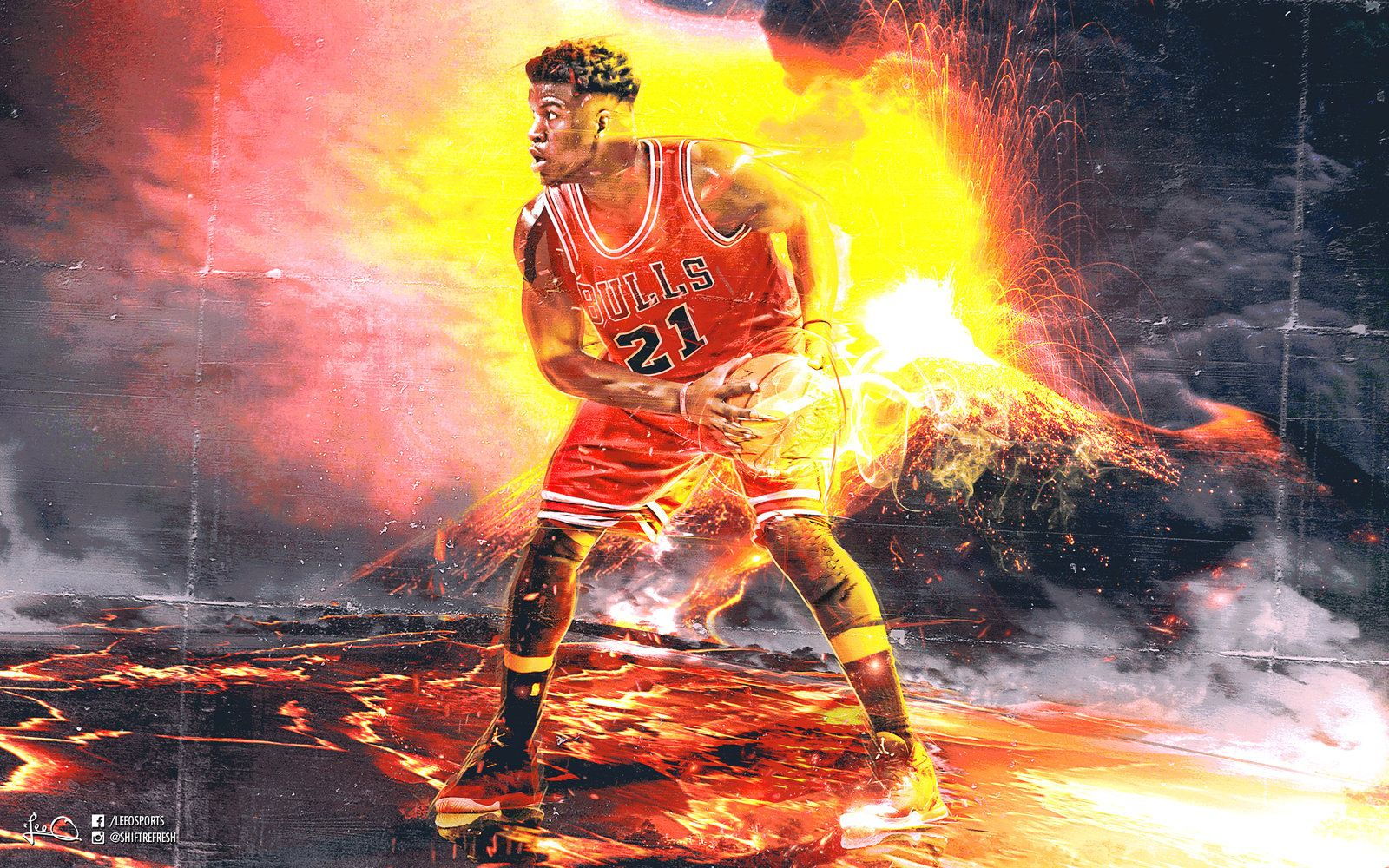 Jimmy Butler Posterized Chris Bosh (Video) | Total Pro Sports |Jimmy Butler Dunk Wallpaper