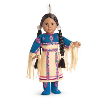 American Girl® #indianbeddoll