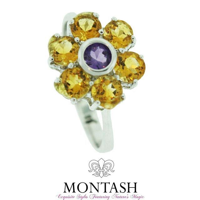 #Brazil is the largest producer of #citrine. Other sources are Argentina, Madagascar, Zaire, Namibia, Spain, and Russia. #montashjewellerydesign