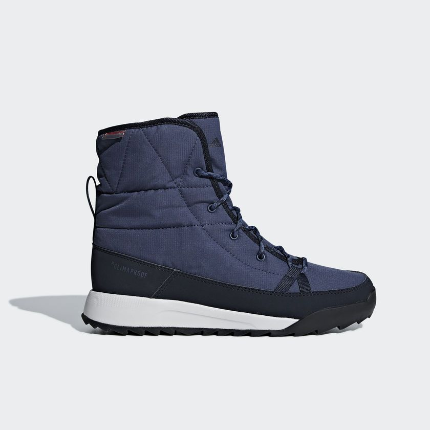 Buty Terrex Choleah Padded Climaproof Boots Niebieski Ac7847 Boots Sneakers Top Sneakers