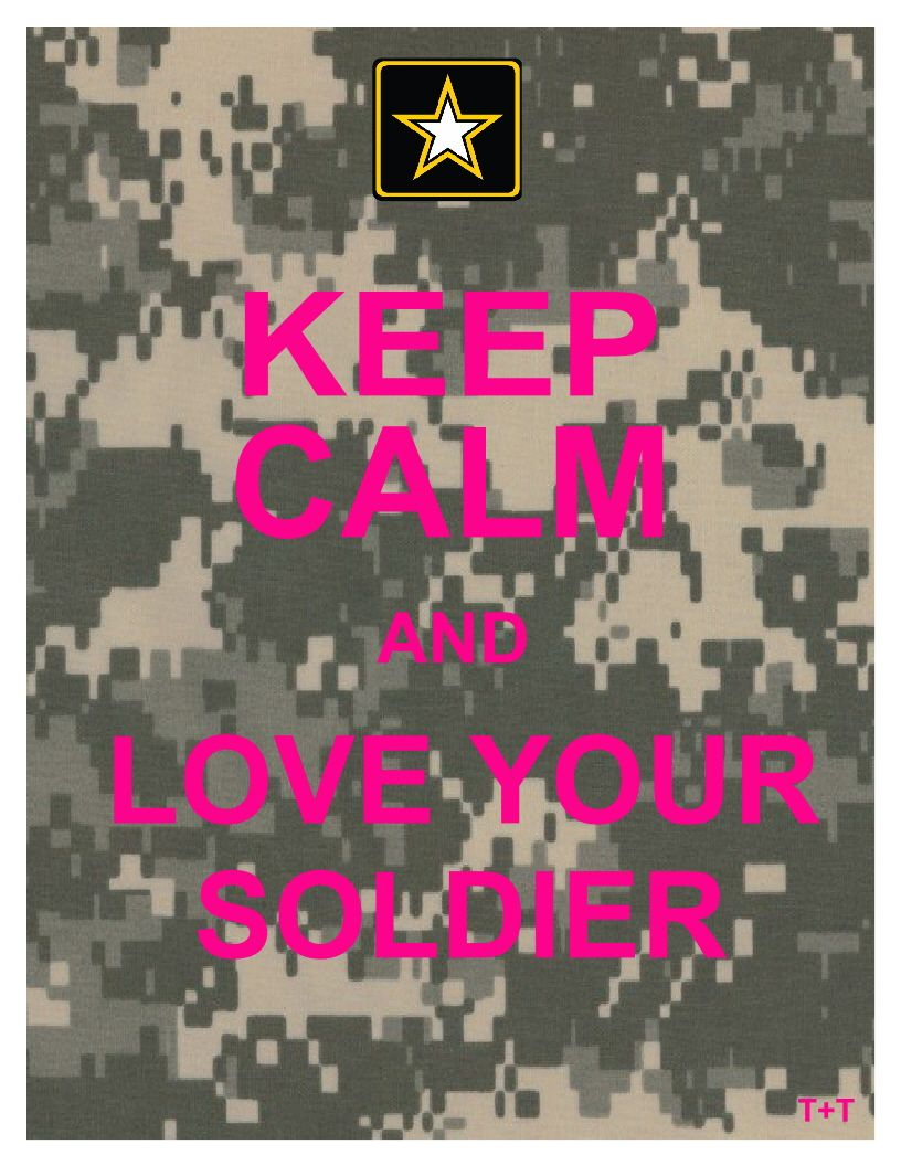 military spouse sayings keep calm