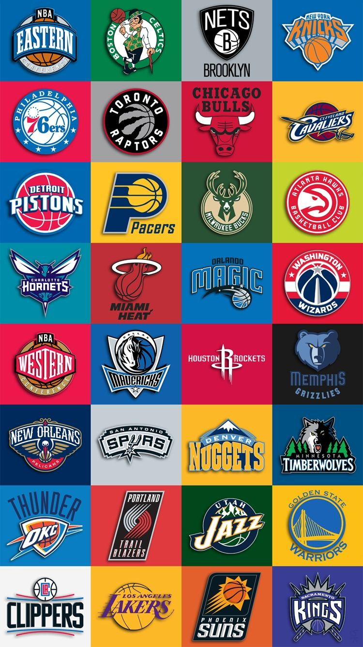 Nba teams logo iphone wallpaper download new nba teams - Nba all teams wallpaper ...