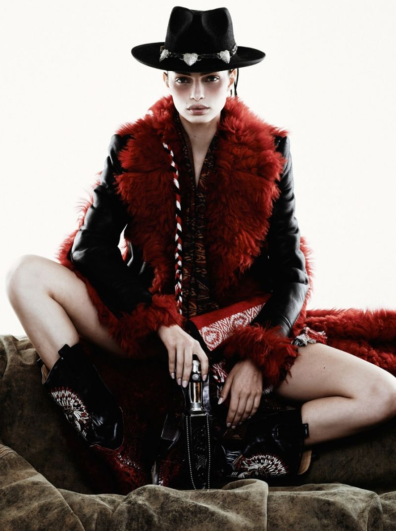 Luma grothe pulp 9 2014 by nicole heiniger hq photo shoot new images
