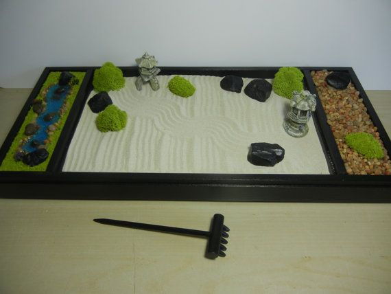 Xl Deluxe Extra Large Zen Garden Includes By Critterswoodworks