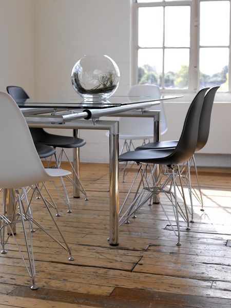 What's not to love about the Eames Eiffel Chair? Use in any setting, any place and for any occasion.  DesigndistrictModern.com sells all the Eiffel styles for less.