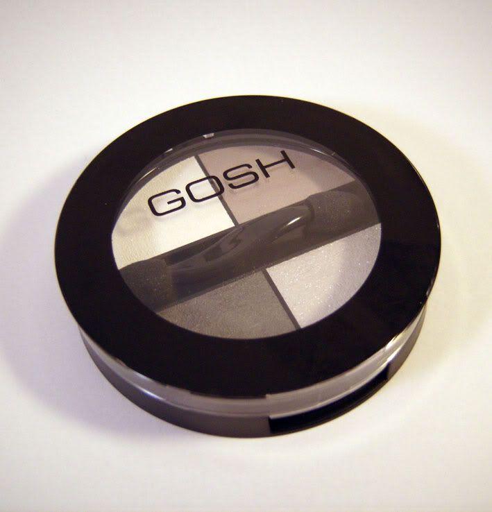 Review: Gosh Quattro Eyeshadow - Platinum
