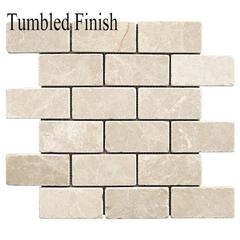 Botticino Tumbled Marble 3 X 6 Field Tile 6 59 Sq Ft Tumbled Finish Tiles For Sale Mosaic Subway Tile Colors
