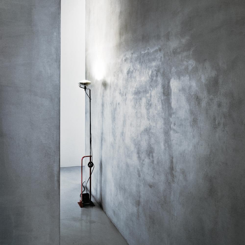 Toio Floor Lamp In Black Red Or White Flos Flos Toio Floor Lamp Standard Lamps