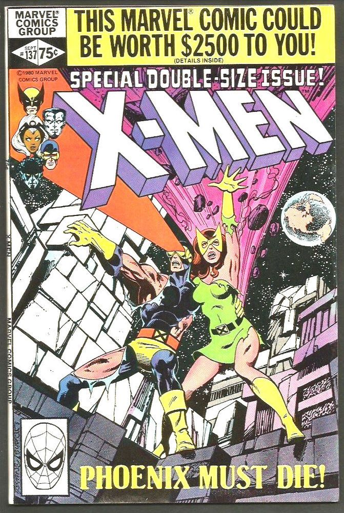 X Men 137 High Grade Marvel Comics 1st Print Nice 1980 John Byrne Double Sized Marvel Comic Books Xmen Comics Comic Book Covers
