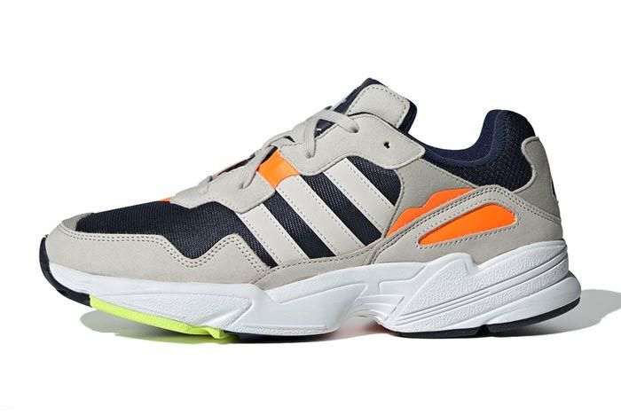 best website 948bd 2f06a The adidas Yung 96 Remixed in  Frozen Yellow