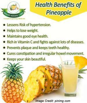 10 Amazing Benefits Of Drinking Pineapple Water For A Whole Year Pineapple Health Benefits Pineapple Benefits Food
