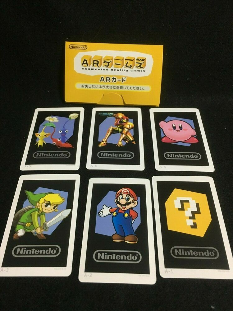 New Nintendo 3ds Ar Games Cards Japan Nintendo