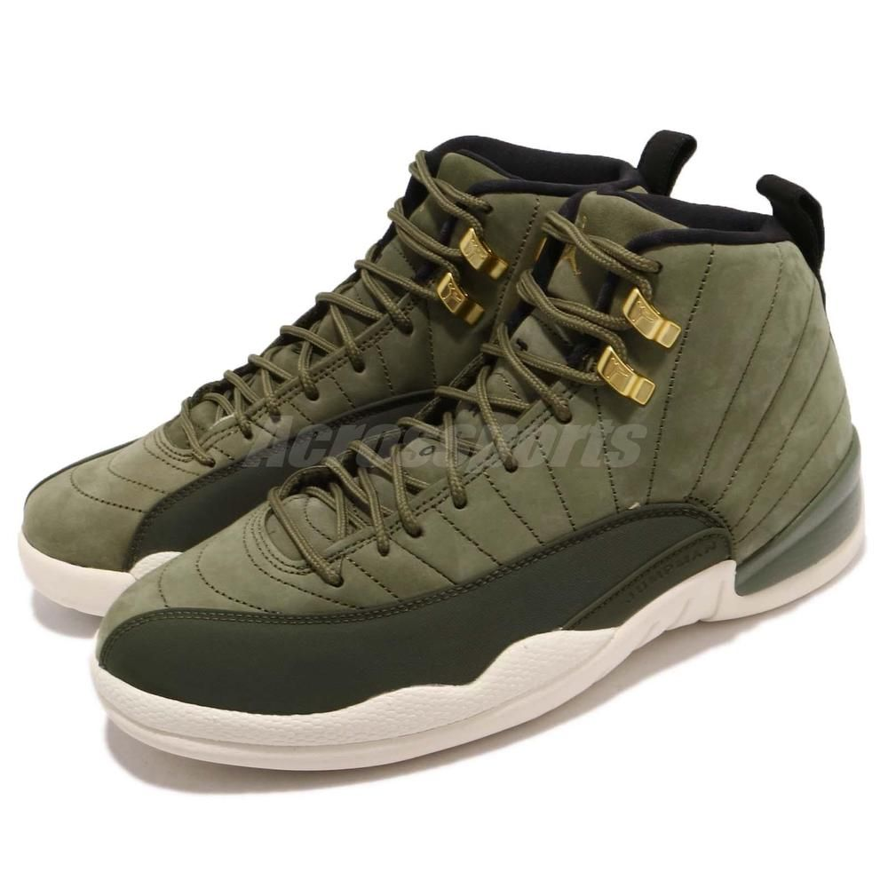 Nike Air Jordan 12 Retro Chris Paul Class Of 2003 Olive Canvas Men 130690- 301 cb837244d