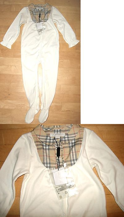 6cf1938e8409 Outfits and Sets 163427: New Authentic Burberry Baby Girl Boy Coverall  Sleeper Pajama Cotton 18 Month 18M -> BUY IT NOW ONLY: $79.99 on eBay!