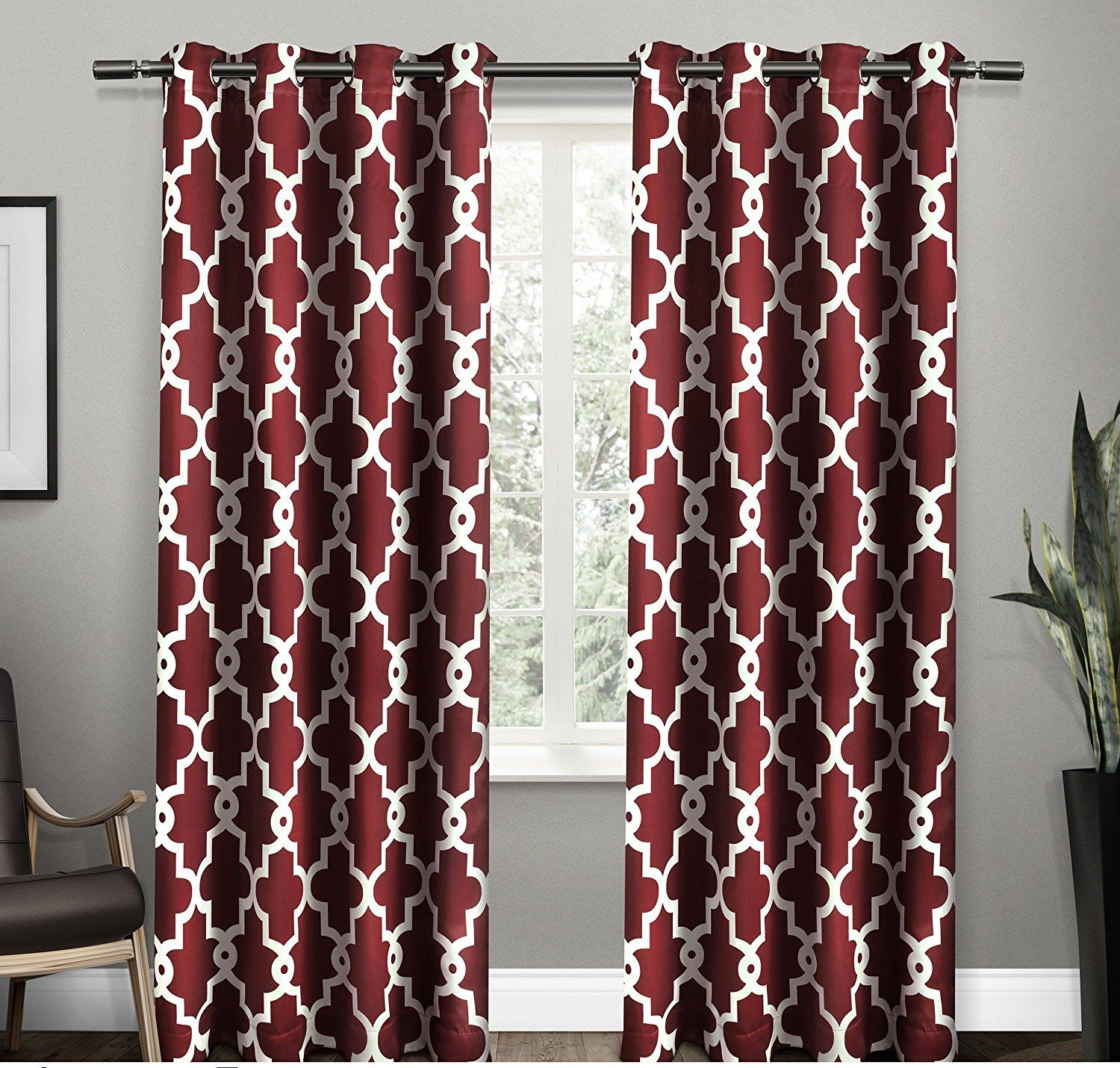 Design Collection Marvellous Bedrooms Dark Red Curtains 50 New Inspiration
