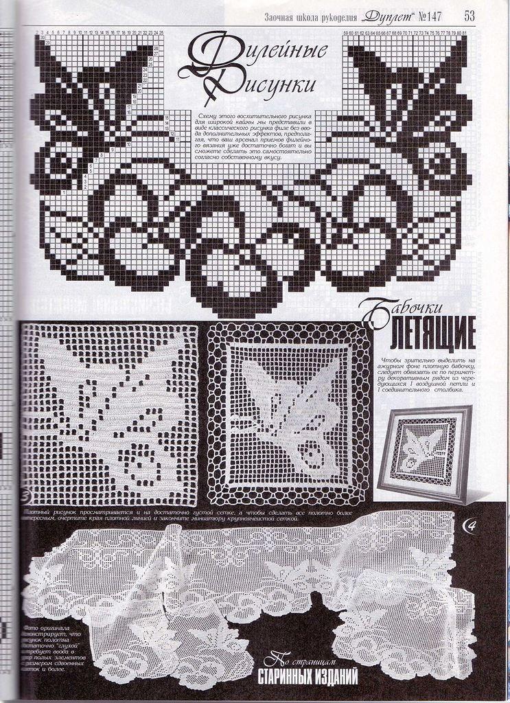 Häkeln Schmetterling crochet butterfly | Projects to Try | Pinterest ...