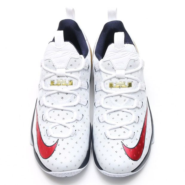 best sneakers 2df2e a28ce Another Red, White, and Blue Shoe for LeBron James. Nike LeBron 13 Low USA  831926-164   SneakerNews.com