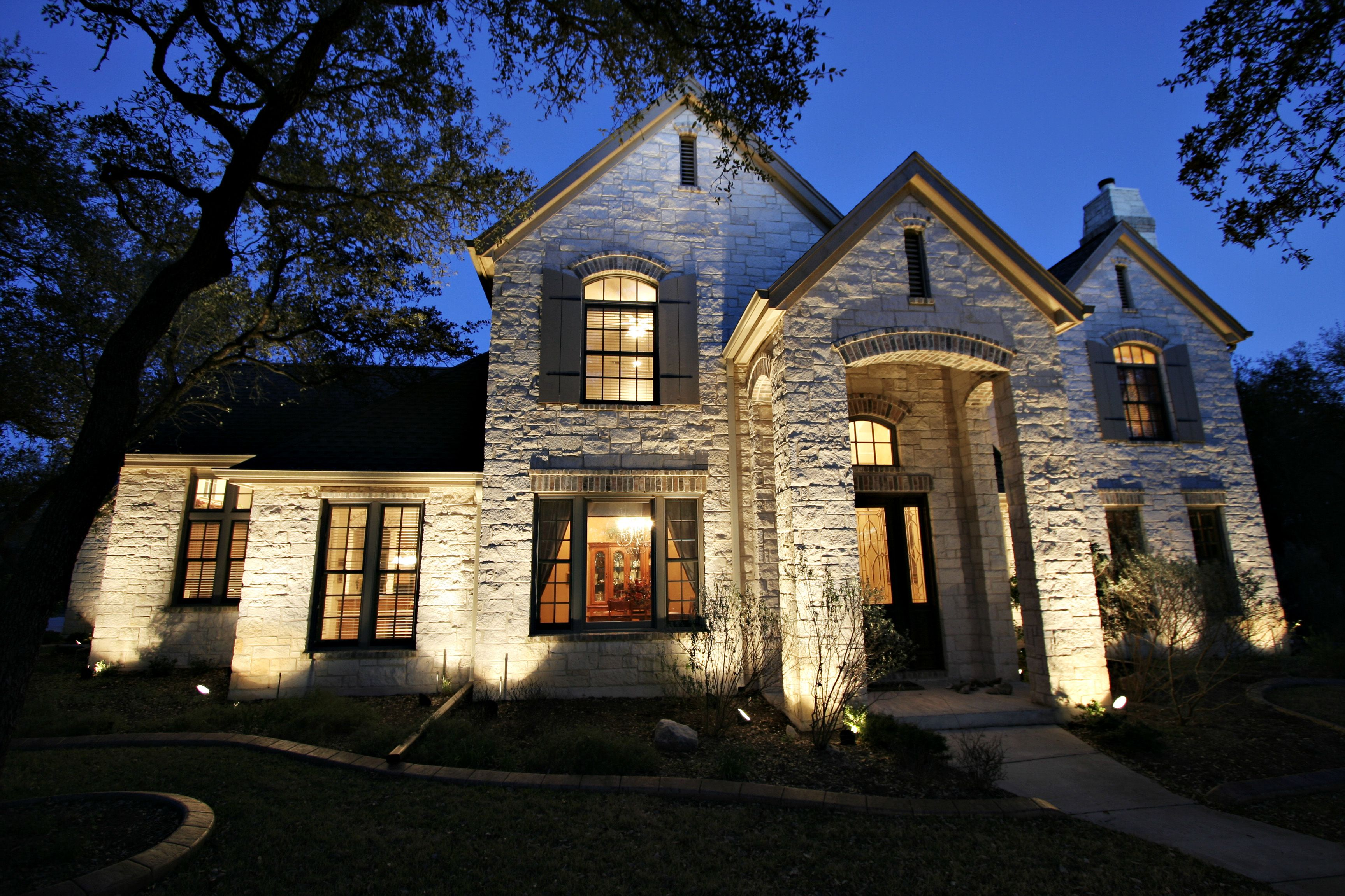 Outdoor Home Lighting Custom Nestors Lighting And Landscaping  Nestors Lighting And Landscaping