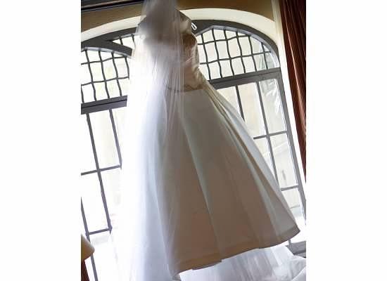 My wedding gown. Reem Acra, Azalea