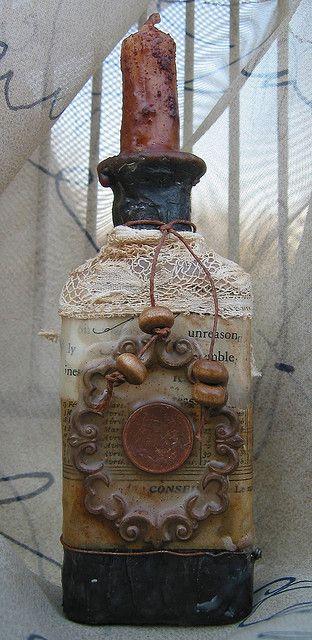Grunge Bottle #2 by Kathy McElroy, via Flickr