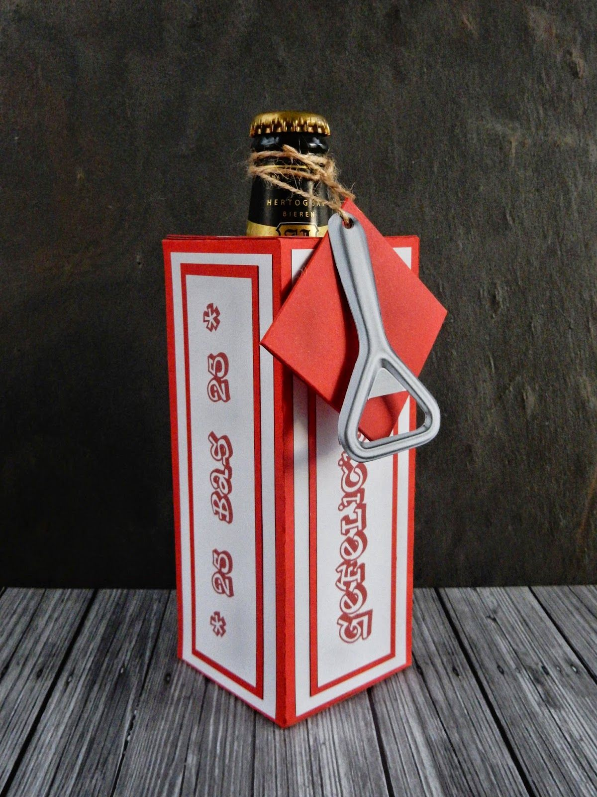Bier Gift Box Met How To Wine Bottle Covers Gifts Bier