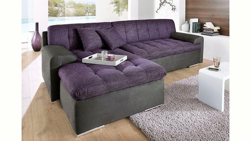 Trendmanufaktur Polsterecke, wahlweise mit Bettfunktion Jetzt - wohnzimmer sofa braun
