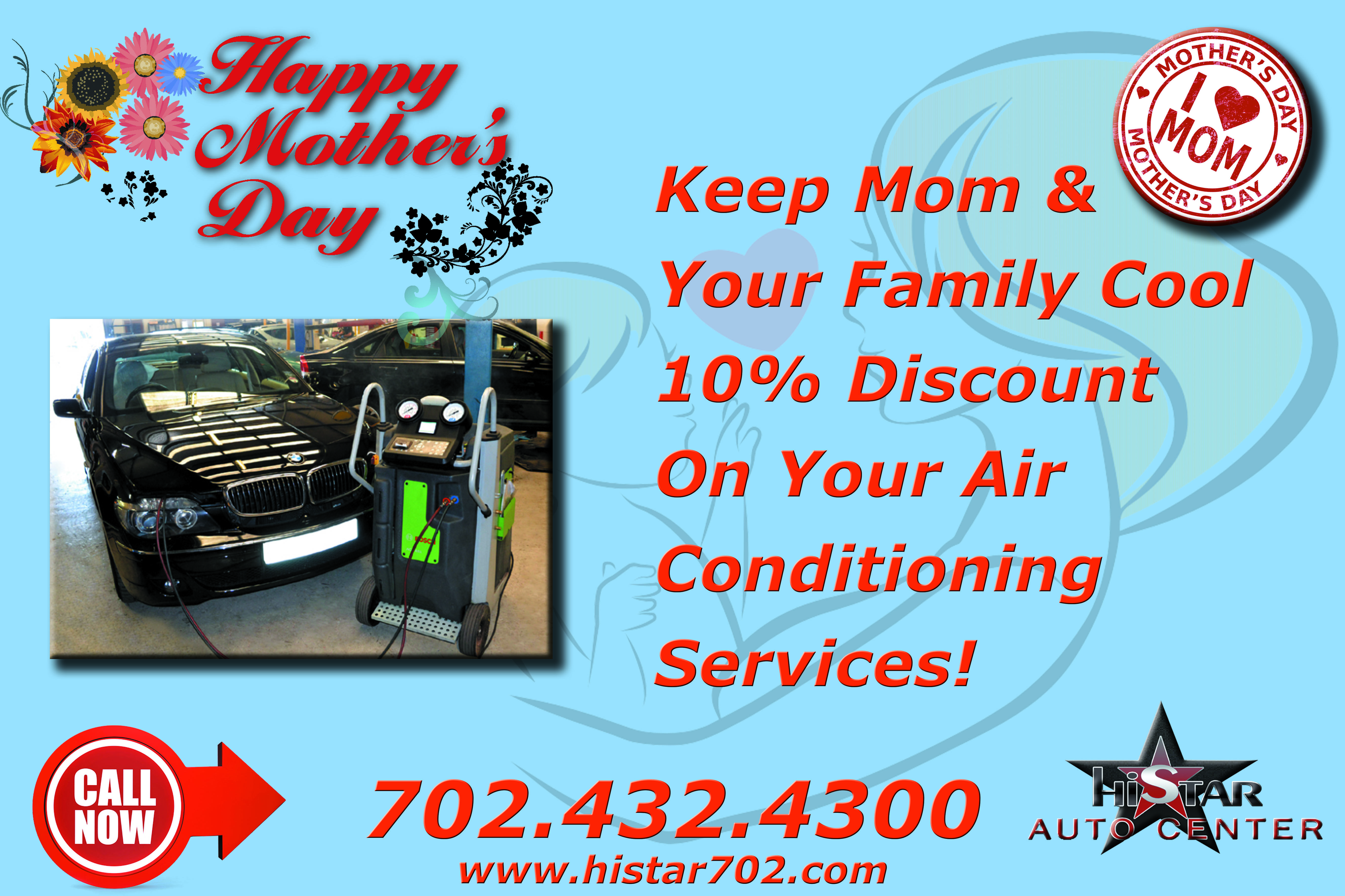 Happy Mother's Day! Keep Mom & Your Family Cool 10