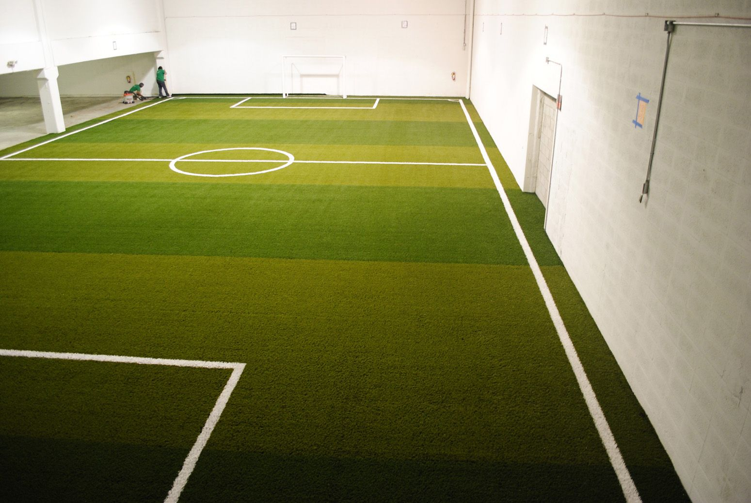 In-Door Soccer Fields Are The New Trend Now Days. They Are