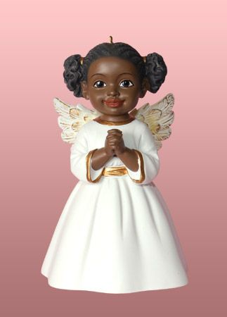 black christmas angels black angel ornaments african american angel and cherub christmas - Black Christmas Angels