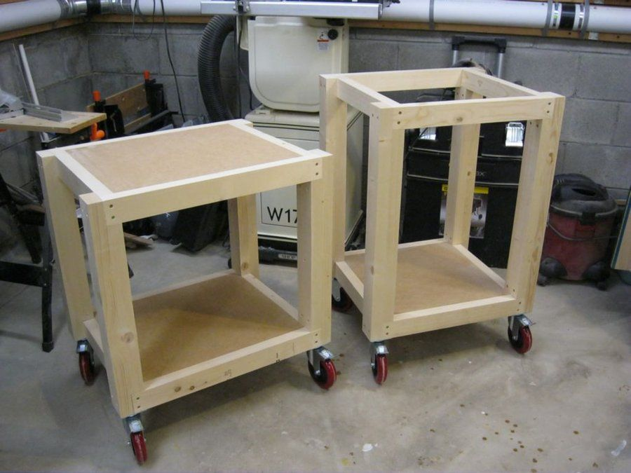 Easy Shop Table II Woodworking projects furniture, Wood