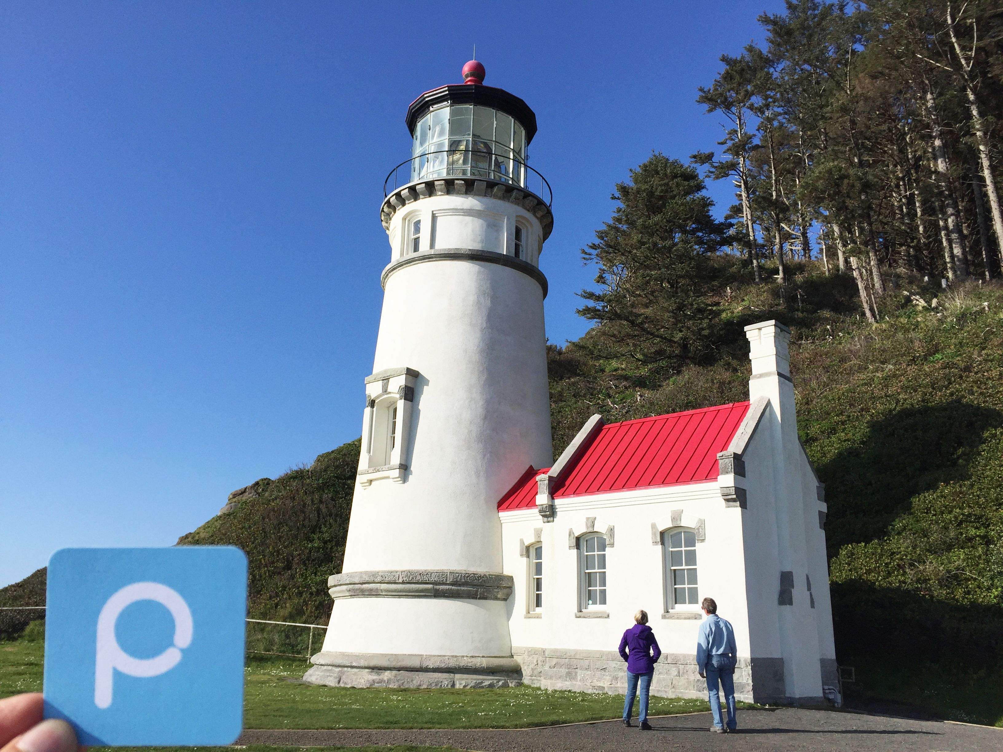 Heceta Head Light is a lighthouse on the Oregon Coast 13