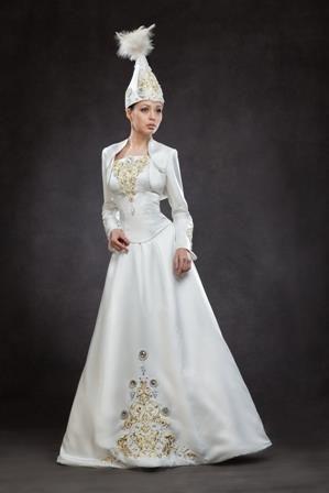 116f34b5b5520c6 Найти современный нацанальный казахский костюм   платье с узором ...