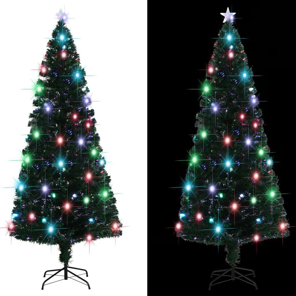 kerstboom met verlichting 2020 Kunstkerstboom met standaard/LED 240 cm 380 takken