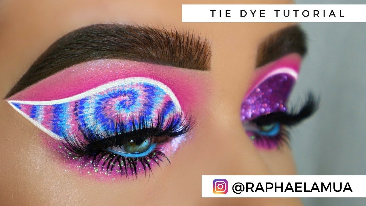 TIE DYE RAPHAELA MUA YouTube Skin makeup, Angels