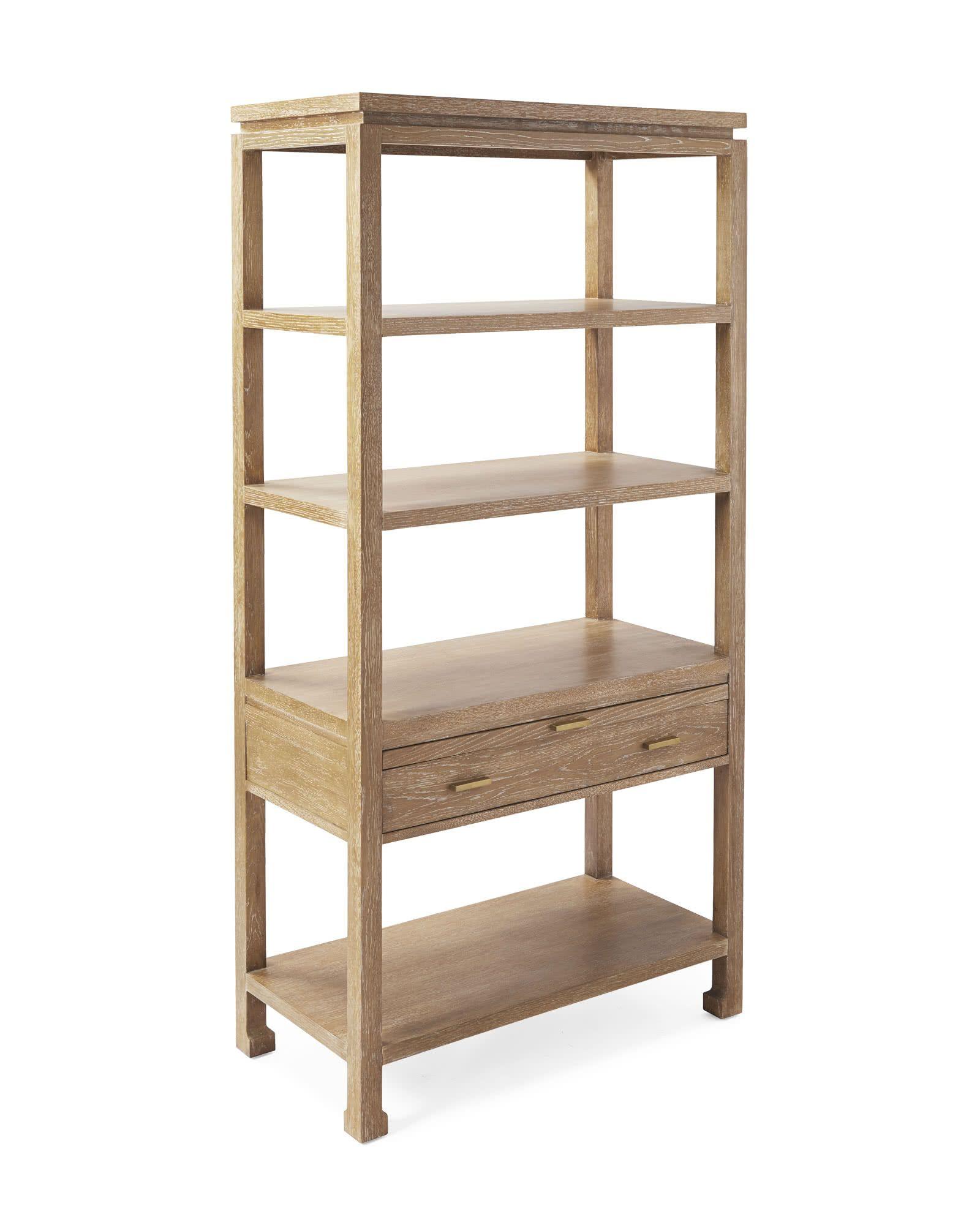 Reese Bookshelf Oak Bookshelves Bar Furniture Shelves