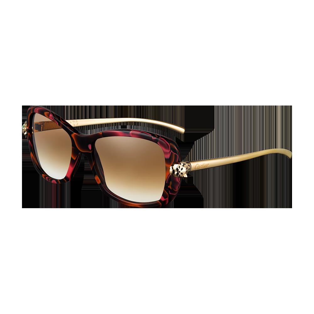 bf28afac773 Óculos de sol Panthère Wild de Cartier