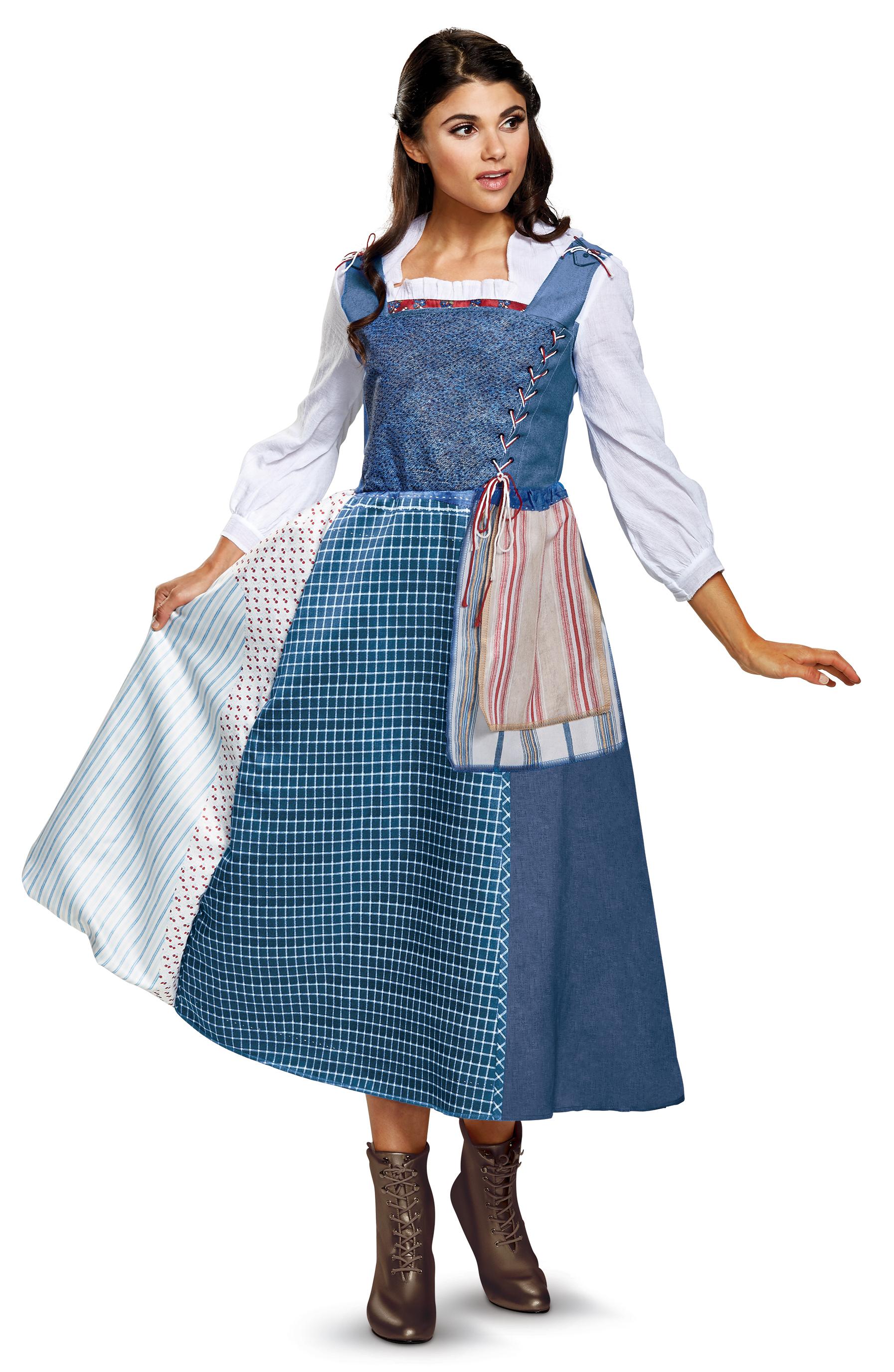 Belle Village Dress beautyandthebeast Costume Belle