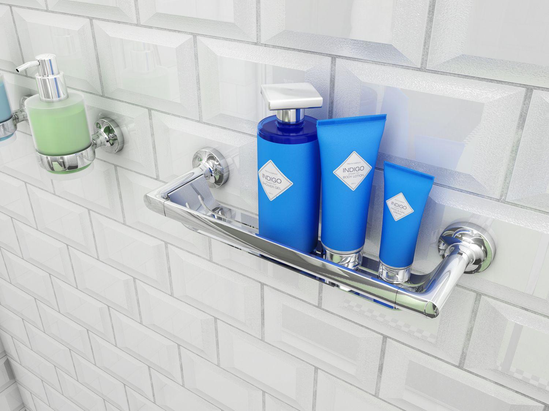 Luxe Badkamer Accessoires : Deze nieuwe collectie badkameraccessoires van geesa heeft een slim