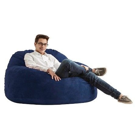 Magnificent Big Joe Chillum Cloud 9 Beanbag Comfort Suede Target Gmtry Best Dining Table And Chair Ideas Images Gmtryco